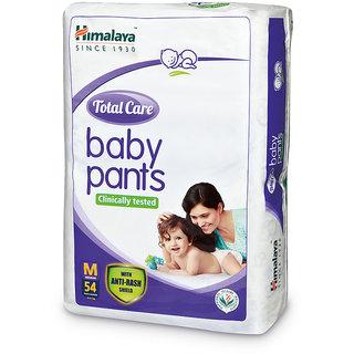 Himalaya Total Care Baby Diaper Pants 54's (Medium)