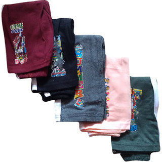 Jisha Fashion Kids Track Pant  Hosiery Material  Combo of 5