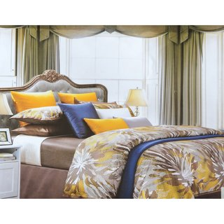 Jagdish Store Multicolor Cotton Bed Sheet with 2 Pillow Covers