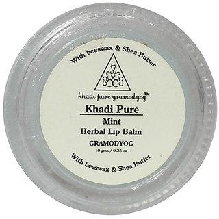 Khadi Pure Herbal Mint Lip Balm - 10g