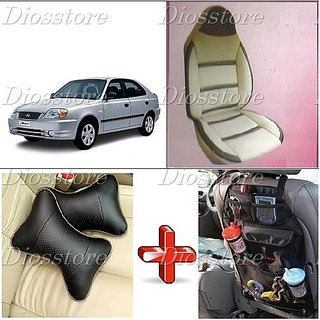 car seat cover for hyundai accent i 116 in india shopclues online. Black Bedroom Furniture Sets. Home Design Ideas