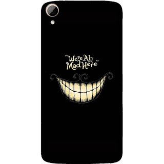High Quality Printed Designer Back Cover Compatible For HTC Desire 828