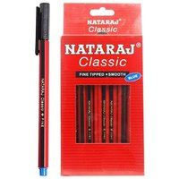 Natraj Fine Classic Ball Pen (Pack Of 40)