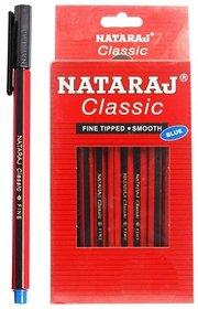 Natraj Fine Classic Ball Pen (Pack Of 40)