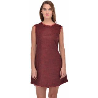 Trendi Cut Slevees Dress Tunic
