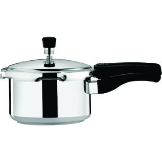 Surya Accent Dino Cooker 2.4 L Outer Lid Steel color Aluminium Pressure Cooker