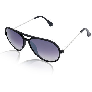 Aoito Stylish Black Aviator Sunglasses.
