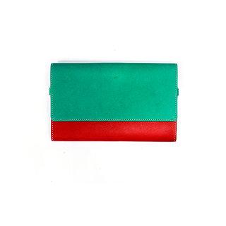 AJMAN Aspira Collection Women's Wallet (GreenRed)