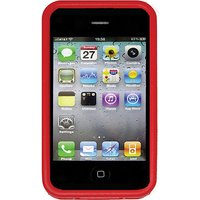 Nite Ize BIO-IP4-10 Bio Case for iPhone 4/4S - 1 Pack - Retail Packaging - Red