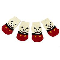 Imported Smile Bear Pattern Pet Dog Puppy Cat Non-slip - 119121167