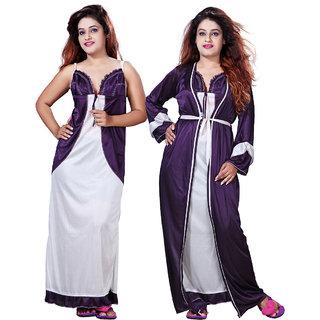 Mahaarani Fancy Satin Nighties