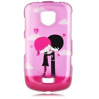 Talon Phone Case for Samsung i520 4G LTE - Emo Love - Verizon - 1 Pack - Case - Retail Packaging - Hot Pink