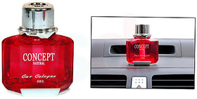 Concept Car Air Freshener luxury Perfume Red