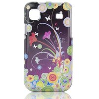 Talon Phone Shell for Samsung T959 Vibrant - Flower Art