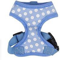 Generic Pet Dog Soft Mesh Harness Clothes XS - Blue Wit