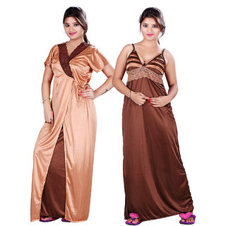 764931f3cb Buy Mahaarani Fancy Satin Nighties Online   ₹599 from ShopClues