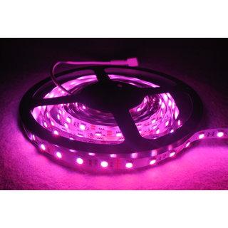 Snap light 5 Meter Waterproof LED Strip Light - Pink