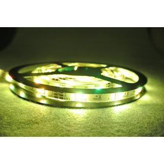 Snap light 5 Meter Waterproof LED Strip Light - Yellow