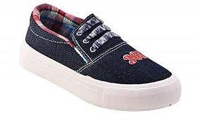 World Wear Footwear Women/Girl's Blue-626 Casual Shoe
