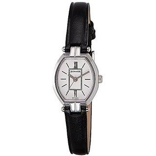 Sonata Quartz White Dial Women Watch-8083SL03