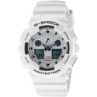 98c6779a258 G Shock Analog Digital White Dial Mens Watch GA 100A 7ADR G274 available at  ShopClues for