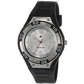 Fastrack NG9333PP01CJ Quartz Silver Round Men's Watch