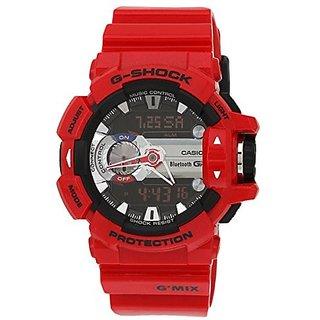 Casio G Shock Analog-Digital Red Dial Men's Watch, GBA-400-4ADR (G559)