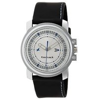 Fastrack Quartz Silver Round Men Watch 3039SL01