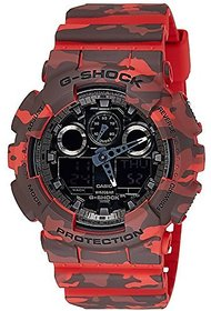 G-Shock Analog-Digital Grey Dial Mens Watch - GA-100CM-