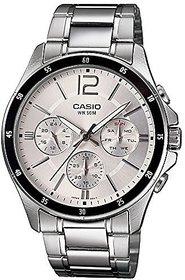 Casio Quartz White Round Men Watch A833