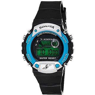 Sonata Quartz Grey Dial Mens Watch-7982PP04