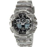 G-Shock Analog Grey Dial Mens Watch - GA-100CM-8ADR(G581)