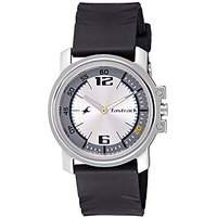 Fastrack Quartz Silver Round Men Watch 3039sp01