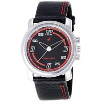 Fastrack Quartz Black Round Men Watch 3039SL06