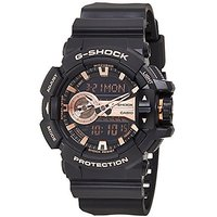 G-Shock Analog-Digital Copper Dial Mens Watch - GA-400G
