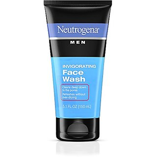 Neutrogena Men Invigorating Face Wash 5.1 oz.