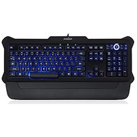 Perixx PX-1100, Backlit Keyboard - Red/Blue/Purple Illu