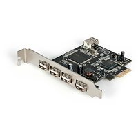 StarTech.com 5 Port PCI Express USB 2.0 Adapter Card (P
