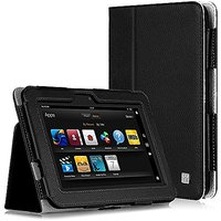 CaseCrown Bold Standby Case (Black) for Amazon Kindle Fire HD 8.9 Inch (Built-in magnet for sleep / wake feature)