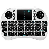 Rii Mini I8 2.4G Wireless Keyboard With Touchpad For PC