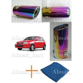 Online Car Exhaust Muffler Tip Pipe For Maruti Zen 1850 C
