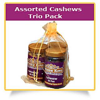 Assorted Cashews - Trio Pack
