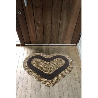 Choco Creation Heart Shape Soft Cotton Door Mat CH001