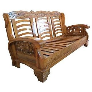 Good Designer Wooden Sofa Set