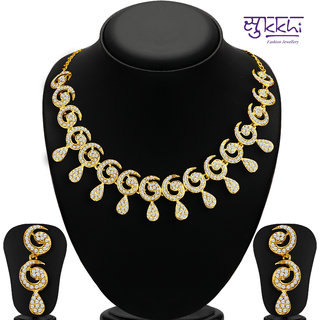 Meia Gold Plated Gold Gold Necklace Set For Women