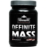 Definite Mass Gainer 1.1 Lbs(500g) Chocolate Flavor- Definite Nutrition