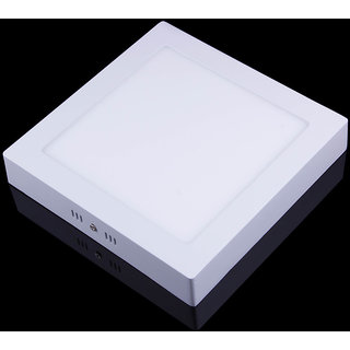 SNAP LIGHT LED Surface Light 22W Ceiling Light (White ) (Square)- Pack of 1