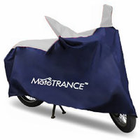 Mototrance Universal Sporty Blue Bike Body Cover For All Bikes