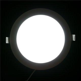 SNAP LIGHT LED Panel Light 8W Ceiling Light (White) (Round)- Pack of 1