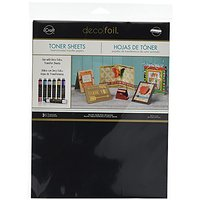 Thermoweb 3377 Deco Foil Toner Sheets (3 Pack), 8.5